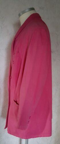 Longblazer Gr Baumwolle Zweireiher Rosa 50 Jacke Blazer Damen qtwAxWZvRW