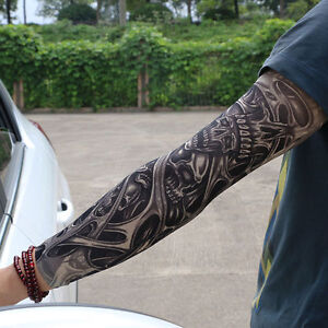 Details about Unisex Temporary Fake Slip On Tattoo Arm Sleeves Kit New  Fashion High Quality ID