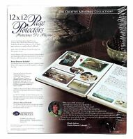 1999 Creative Memories Collection 12x12 Page Protectors 15 Sheets + 1