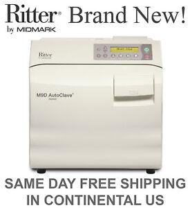 NEW-Ritter-Midmark-M9D-AutoClave-Steam-Sterilizer-Manual-Door-M9D-022