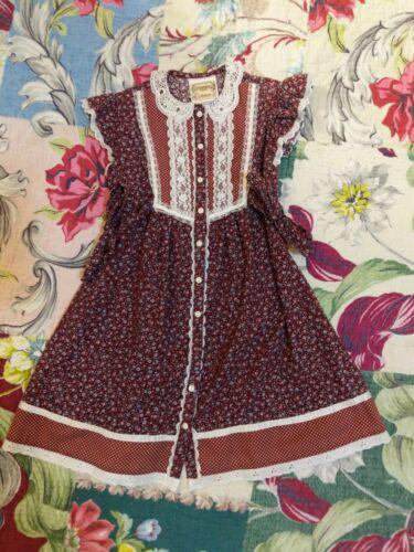 Gunne Sax cottagecore prairie dress Child Size - image 1