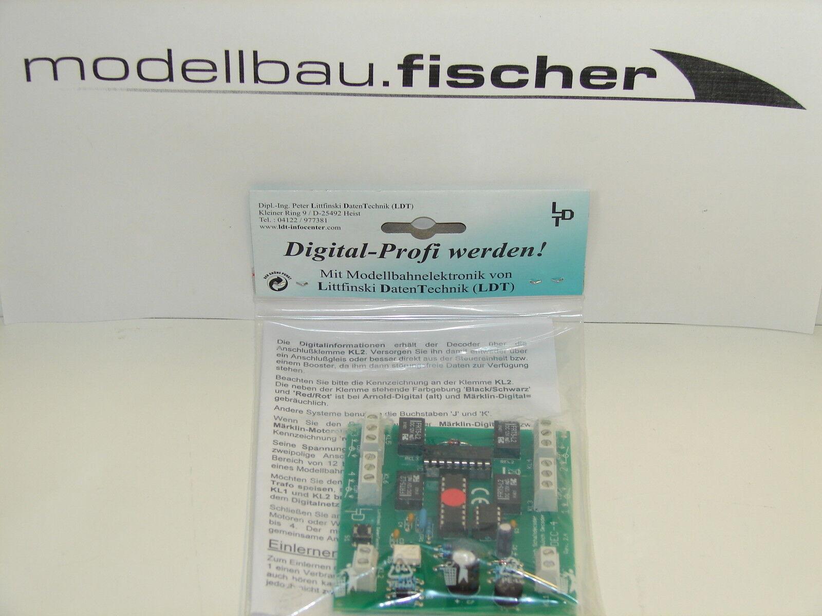 Littfinski LDT 210312 quadro decoder per  -Motorola Merce Nuova
