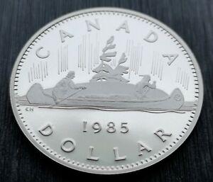 CANADA-DOLLAR-1985-PROOF-HEAVY-CAMEO