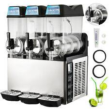 3 Tanks 36l Commercial Frozen Drink Slush Slushy Machine Margarita Slushy Juice