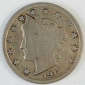 SET OF 12 COINS LOT 1899-1912 missing some LIBERTY HEAD V
