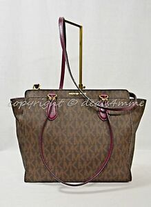 3d1feea2b66d Image is loading Michael-Kors-Dee-Dee-Large-Convertible-Tote-Shoulder-