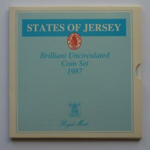 Baliwick of Jersey 7 Coin Brilliant Uncirculated Set