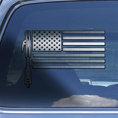 USA Welder Flag Decal Sticker American flag welding window decal weld sticker