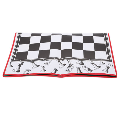 Portable Non-woven Fabric Board Roll-Up Tournament Chess Board Game Fitting CB