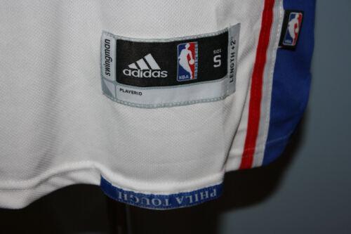 ... Adidas Philadelphia 76ers Sixers Sewn Markelle Fultz White Jersey S   Misprint 4aaf3e57f