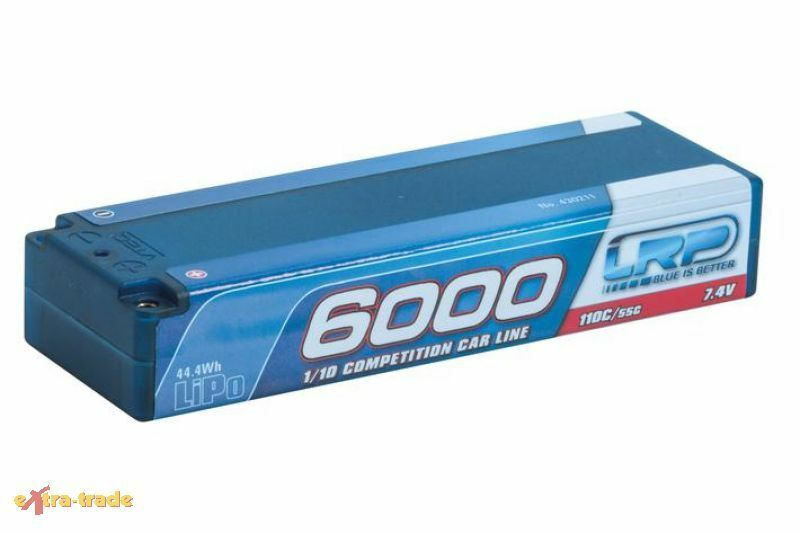 LRP Batteria LIPO CCL Custodia  roautobusta 6000 - 110 55c - 7.4v - 430211  le migliori marche vendono a buon mercato