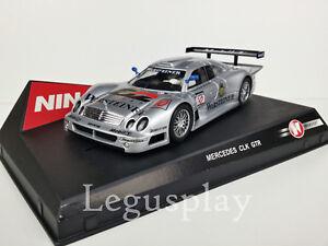 SCX-Scalextric-Slot-Ninco-50167-Mercedes-CLK-GTR-Warsteiner-N-10