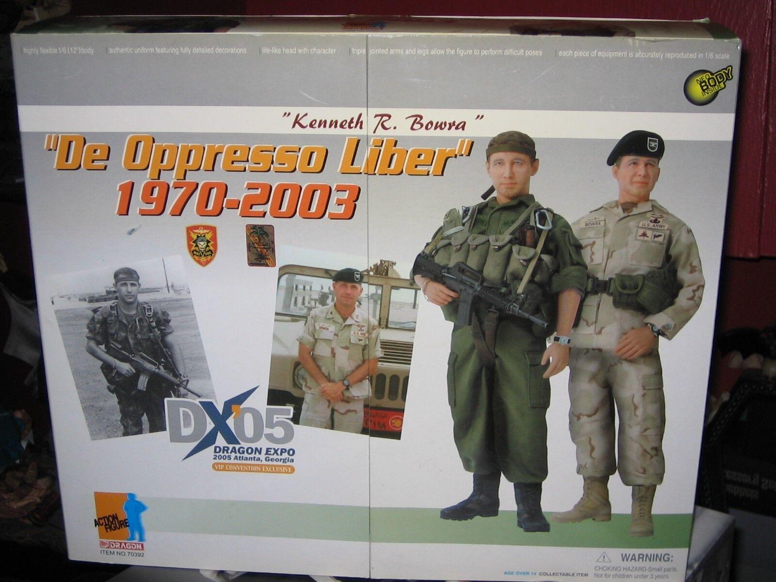 1 6 Dragon DXO5 KENNETH R BOWRA  DE OPPRESSO LIBER 1970-2003  MIB
