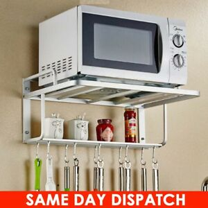 Image Is Loading Microwave Oven Stand Rack Holder Wall Mounted Shelf