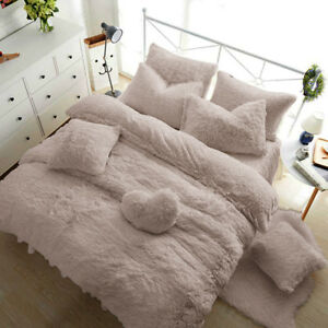 Image Is Loading Teddy Bear Fleece Duvet Cover Warm Cozy Ed