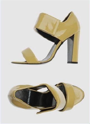 NIB PIERRE HARDY HARDY HARDY open toe heels 40 ef129c