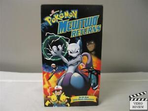 Pokemon: Mewtwo Returns VHS 85392214136   eBay Pokemon Mewtwo Returns Dvd