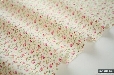 Small Blossom Selection 100% Cotton Fabric Bunting & Patchwork [1407-046]