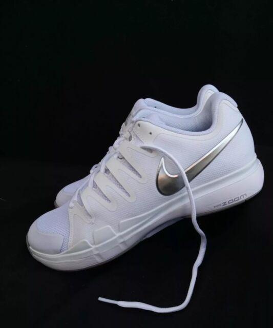new concept e1a83 b1248 11.5 WOMEN S   10 MEN S Nike Vapor 9.5 Tour Tennis shoes White Silver 631475 -101