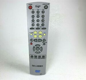 GO-VIDEO-REMOTE-CONTROL-00052D-VCR-Plus-For-Go-Video-DVD-VHS-Player