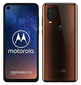 Motorola-One-Vision-Bronzo-Iridescente-Dual-Sim-128GB-4GB-Garanzia-Italia