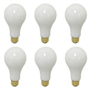 Details About 6 Pk 3 Way Light Bulbs 100 150 250 Watt Soft White Incandescent