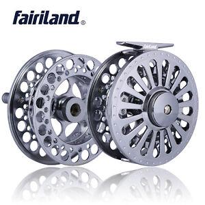 Fly-Reel-70-80-90-100-110mm-Aluminum-Alloy-Metal-Fishing-Wheels-Kits-w-a-Spool