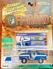 1968 /'68 FORD BRONCO BLUE V//A OFF ROAD STREET FREAKS JOHNNY LIGHTNING 2019