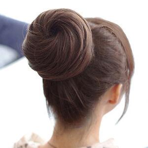 LD-Women-039-s-Synthetic-Fiber-Hairpiece-Hair-Extension-False-Fake-Hair-Bun-Wig-S