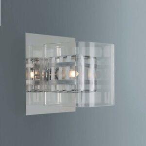 Wandleuchte Wandlampe Lampe Leuchte Beleuchtung Modern Neu Chrom B-Ware