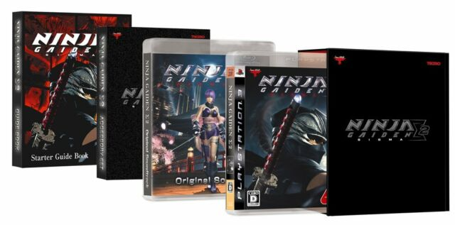 Ninja Gaiden Sigma 2 Premium Box Japan Import For Sale Online Ebay