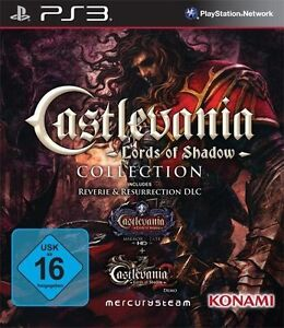 Sony-PS3-Playstation-3-Spiel-Castlevania-1-2-Lords-of-Shadow-Collection-NEU-NEW