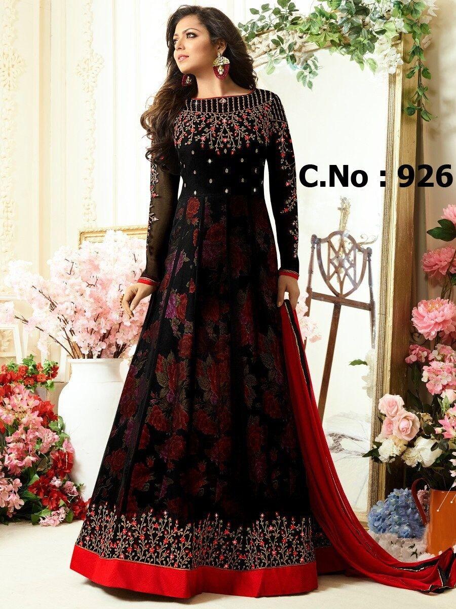 Anarkali Salwar Kameez Suit Indian Pakistani Designer Bollywood Ethnic Dress RTC
