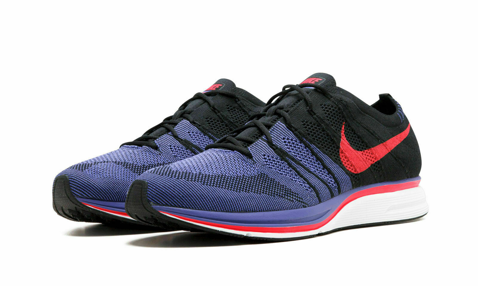 Nike Flyknit Trainer Running shoes Black Red Tgoldnto Raptors NBA AH8396 003 14