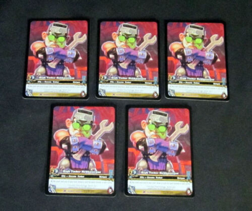 5 World of Warcraft WoW TCG High Tinker Mekkatorque Drums Lot of Ally Epic