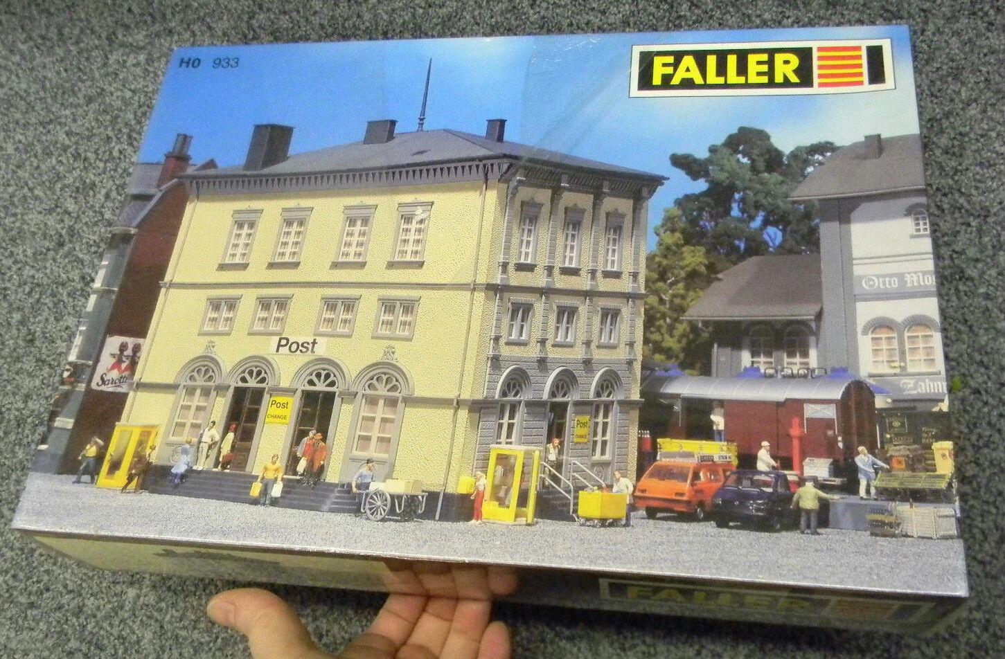 933 FALLER H0 Postamt Post office Bausatz 1 87 HO Neuw. OVP modeltrain Diorama