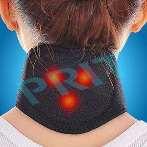 Self Heating Neck Wrap Heat Brace Support Strap Pain Ache