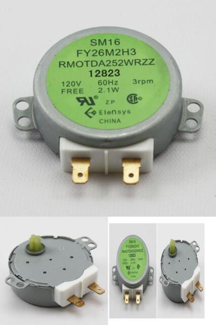 Microwave Turntable Motor Genuine Oem Original Part For Sharp Rmotda252wrzz