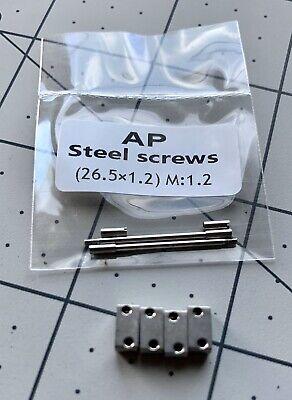 AUDEMARS PIGUET ROYAL OAK OFFSHORE 3.5mm S//S PLOTS KIT END LINKS For Strap NEW