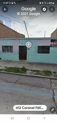 venta casa como terreno 400m2 en ags COL GREMIAL calle felix de la paz, col centrica