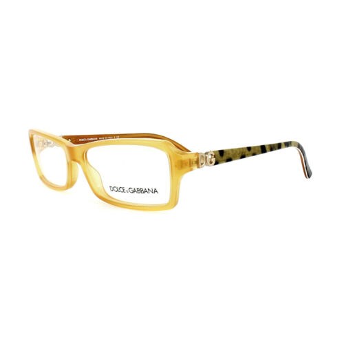 Dolce and Gabbana Glasses Frames DG 3101 1833 Yellow Womens 54mm