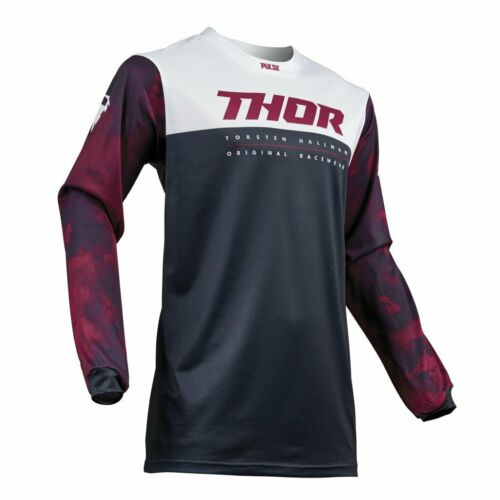 Thor Pulse Air Mens MX Offroad Jersey Midnight//Light Gray