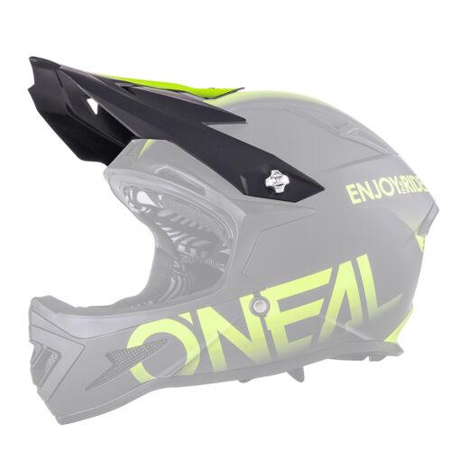 Radsport O'neal Visor Warp Blocker Helm Visier schwarz/gelb Oneal
