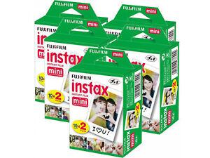 Fujifilm 10-20-40-60 & 100 Prints instax instant film For Fuji mini 8 & 9 Camera