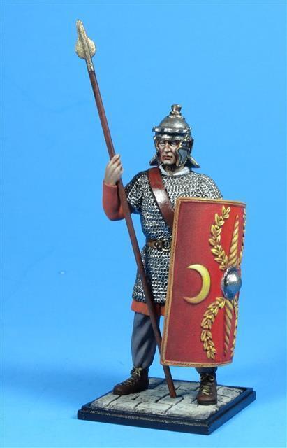 Lead Army - 5163B - Roman Legionary, 220 AD - Russian Made Connoisseur