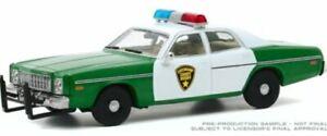 GREENLIGHT-86595-PLYMOUTH-FURY-CHICKASAW-COUNTY-SHERIFF-diecast-model-car-1-43rd