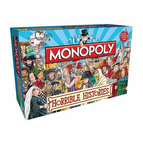 Monopoly Horrible Histories Monopoly Board Game New Sealed