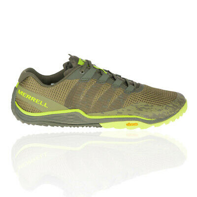 Merrell Boys Trail Glove 5 A//C Running Shoes Trainers Sneakers Green Sports