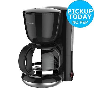 Cookworks Filter Coffee Maker 125l 870w Black Ebay