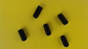 5X Gewindestifte M4x8 Innen6kant Kegelstumpf 45H DIN 913 ISO 4026 Madenschrauben